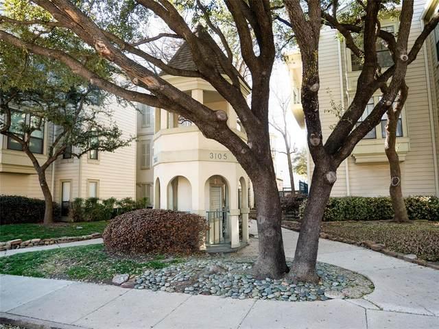 3105 San Jacinto Street #120, Dallas, TX 75204 (MLS #14530478) :: The Mauelshagen Group