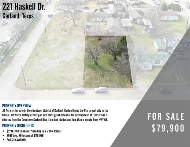 221 Haskell Drive, Garland, TX 75040 (MLS #14531309) :: The Kimberly Davis Group