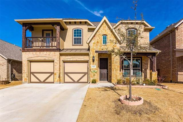 4317 Old Grove Way, Fort Worth, TX 76244 (MLS #14533313) :: The Chad Smith Team