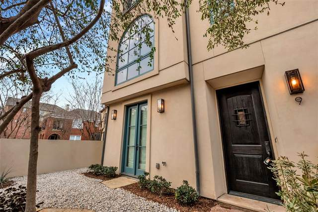 4406 Bowser Avenue #9, Dallas, TX 75219 (MLS #14533892) :: The Hornburg Real Estate Group