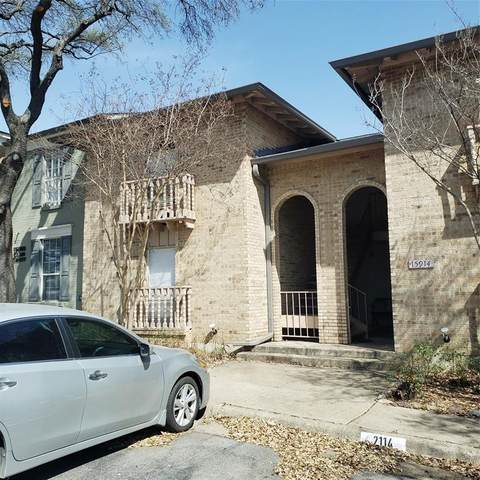 15914 Club Crest Drive #2112, Dallas, TX 75248 (MLS #14534587) :: The Star Team | JP & Associates Realtors