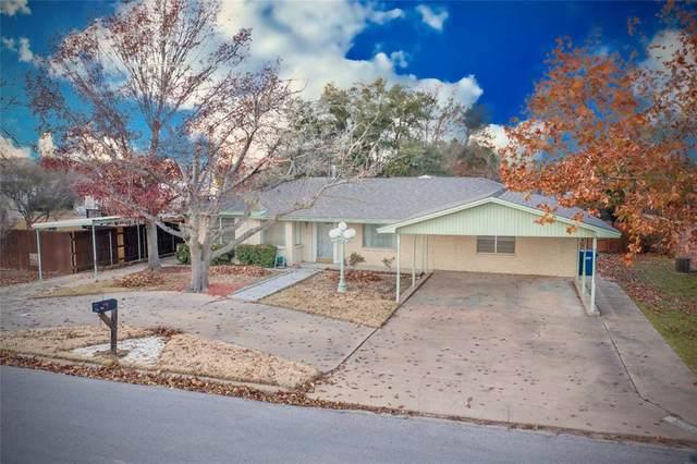 1406 W Elliott Street, Breckenridge, TX 76424 (MLS #14535081) :: The Rhodes Team