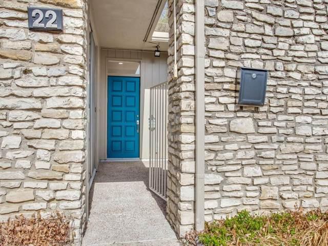 4500 Westridge Avenue #22, Fort Worth, TX 76116 (MLS #14535213) :: The Rhodes Team