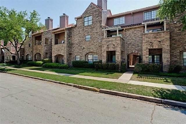 3407 Binkley Avenue F, University Park, TX 75205 (MLS #14535891) :: The Juli Black Team