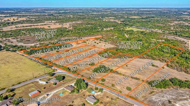 230-30 Old Agnes Road, Weatherford, TX 76088 (MLS #14536162) :: Results Property Group