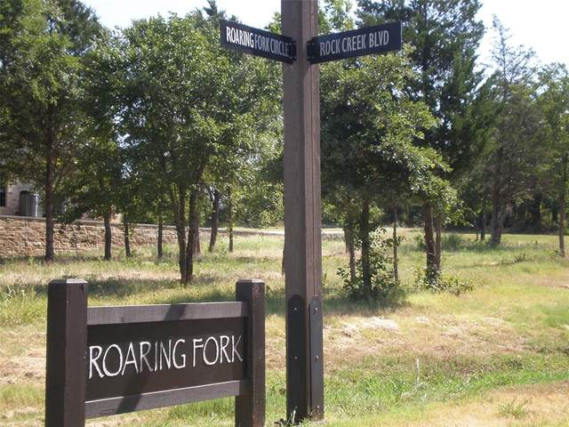 158 Roaring Fork Circle, Gordonville, TX 76245 (MLS #14536562) :: The Hornburg Real Estate Group