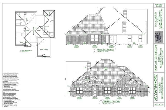609 El Gato Drive, Godley, TX 76044 (MLS #14536744) :: Real Estate By Design