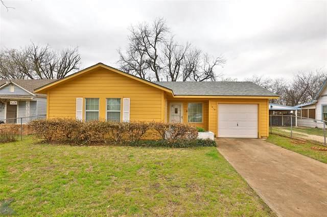 1618 Orange Street, Abilene, TX 79601 (MLS #14536903) :: The Chad Smith Team