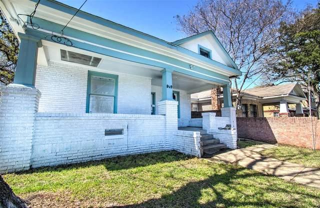 909 N Beckley Avenue, Dallas, TX 75203 (MLS #14537486) :: RE/MAX Pinnacle Group REALTORS