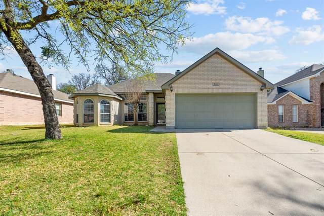 521 Oakbrook Drive, Burleson, TX 76028 (MLS #14537918) :: The Chad Smith Team