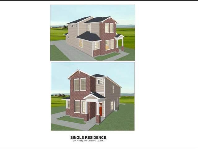 214 N Kealy Avenue, Lewisville, TX 75057 (MLS #14538253) :: Real Estate By Design