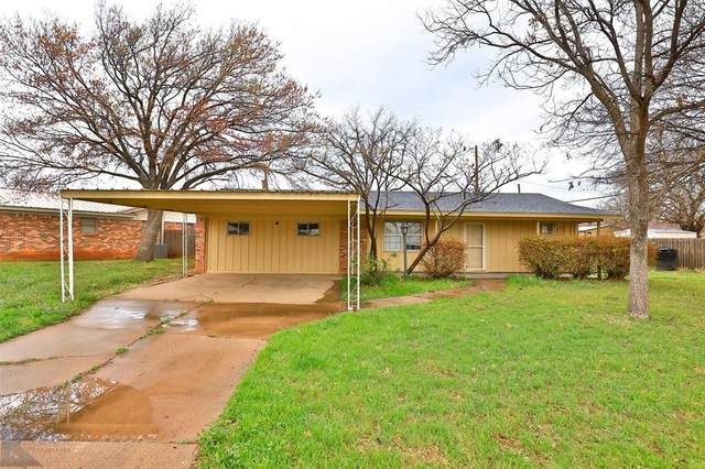 5266 Alamo Drive, Abilene, TX 79605 (MLS #14539317) :: The Kimberly Davis Group