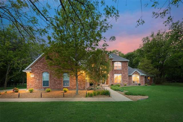 4025 Bordeaux Circle, Flower Mound, TX 75022 (MLS #14539359) :: Russell Realty Group