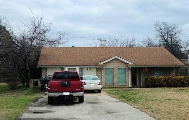 205 S Broadway Street, Joshua, TX 76058 (MLS #14539750) :: The Hornburg Real Estate Group