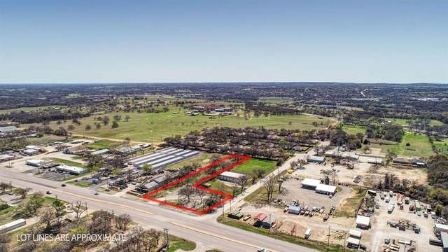 1706 Fort Worth Highway, Weatherford, TX 76086 (MLS #14540370) :: KW Commercial Dallas