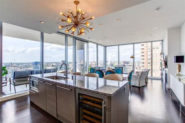 2900 Mckinnon Street #1805, Dallas, TX 75201 (MLS #14540588) :: Jones-Papadopoulos & Co