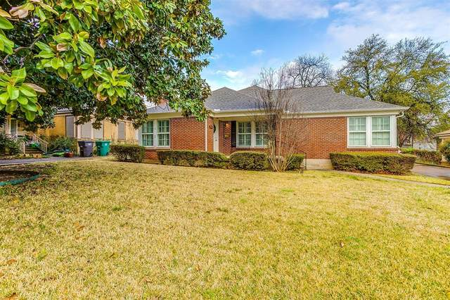 3600 Rogers Avenue, Fort Worth, TX 76109 (MLS #14540773) :: The Chad Smith Team