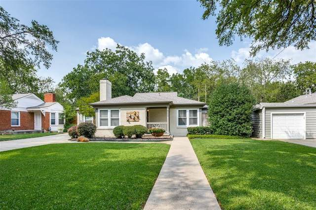 6424 Locke Avenue, Fort Worth, TX 76116 (MLS #14540846) :: Wood Real Estate Group