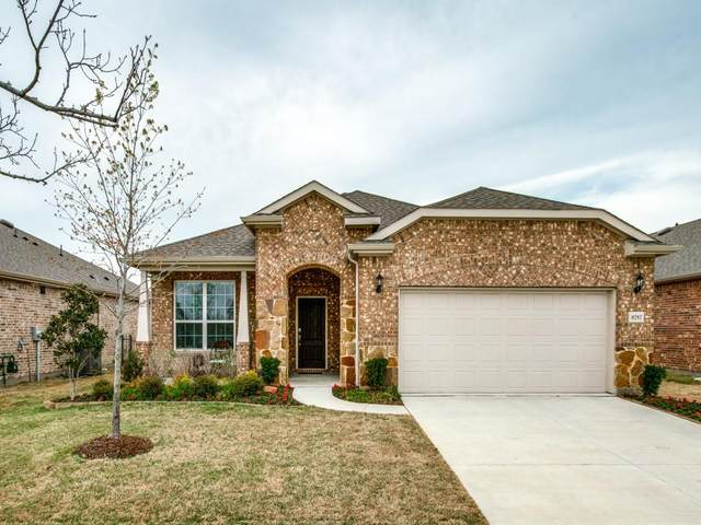 8757 Shadow Bay Lane, Frisco, TX 75036 (MLS #14541408) :: The Daniel Team