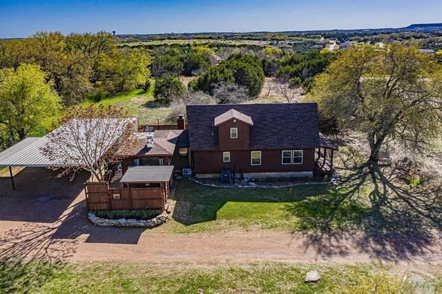 2405 Christine Drive, Granbury, TX 76048 (MLS #14542028) :: Hargrove Realty Group