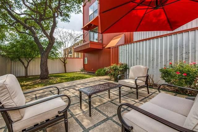 4213 Dickason Avenue #12, Dallas, TX 75219 (MLS #14542041) :: Team Hodnett