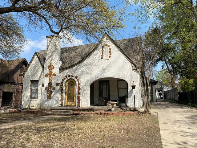 2741 Willing Avenue, Fort Worth, TX 76110 (MLS #14542380) :: The Kimberly Davis Group