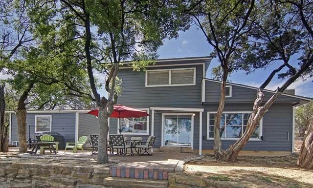 1607 Cedar Crest Loop, Possum Kingdom Lake, TX 76449 (MLS #14542538) :: Frankie Arthur Real Estate