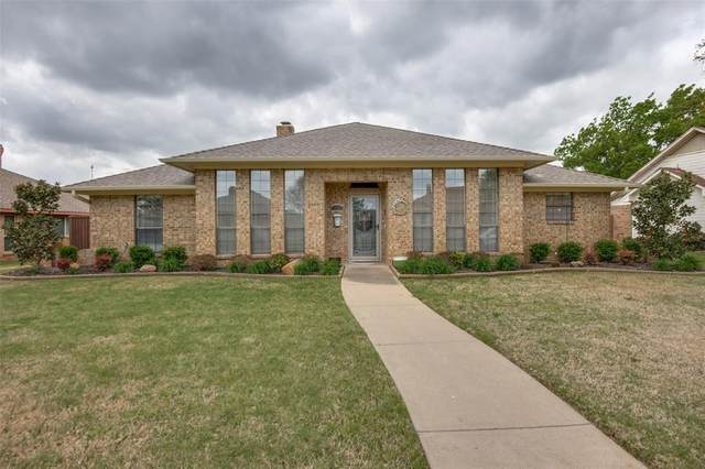 1634 Parkside Trail, Lewisville, TX 75077 (MLS #14542823) :: Hargrove Realty Group