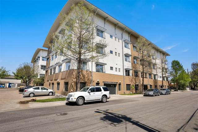 3025 Bryan Street 1F, Dallas, TX 75204 (MLS #14543356) :: Frankie Arthur Real Estate