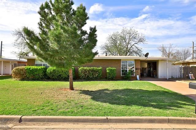 4425 Capitol Avenue, Abilene, TX 79603 (MLS #14543546) :: The Chad Smith Team