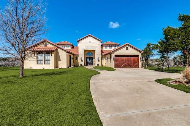 5025 Hells Gate Loop, Strawn, TX 76475 (MLS #14543870) :: Team Hodnett