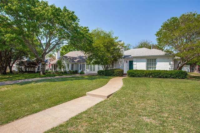 3608 Country Club Circle, Fort Worth, TX 76109 (MLS #14544538) :: The Chad Smith Team
