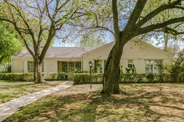 6401 Locke Avenue, Fort Worth, TX 76116 (MLS #14544620) :: Wood Real Estate Group