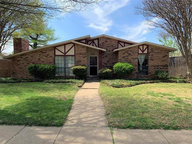 2201 Decator Drive, Plano, TX 75093 (MLS #14544626) :: The Good Home Team