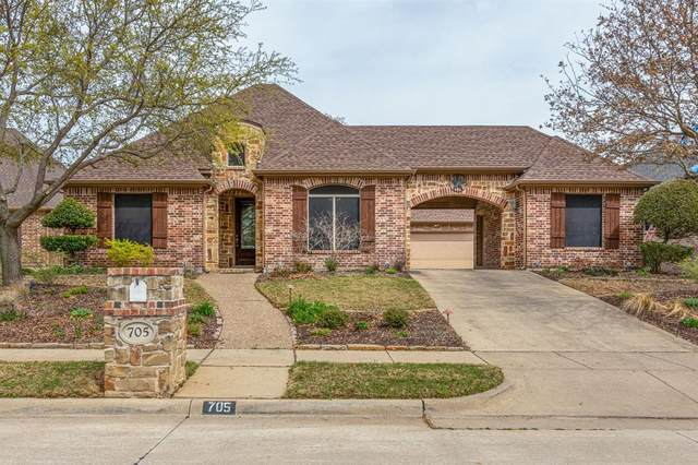 705 Eagle Trail, Keller, TX 76248 (MLS #14544651) :: Wood Real Estate Group