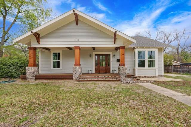 311 Pacific Avenue, Terrell, TX 75160 (MLS #14544685) :: The Hornburg Real Estate Group