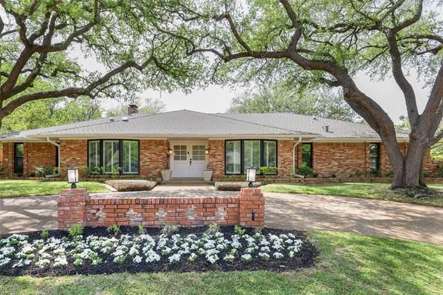 4315 Mill Creek Road, Dallas, TX 75244 (MLS #14545835) :: Premier Properties Group of Keller Williams Realty