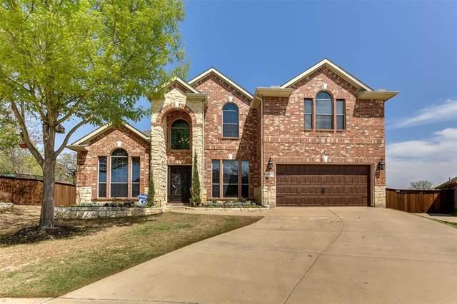 821 Greenwood Drive, Burleson, TX 76028 (MLS #14546031) :: The Hornburg Real Estate Group