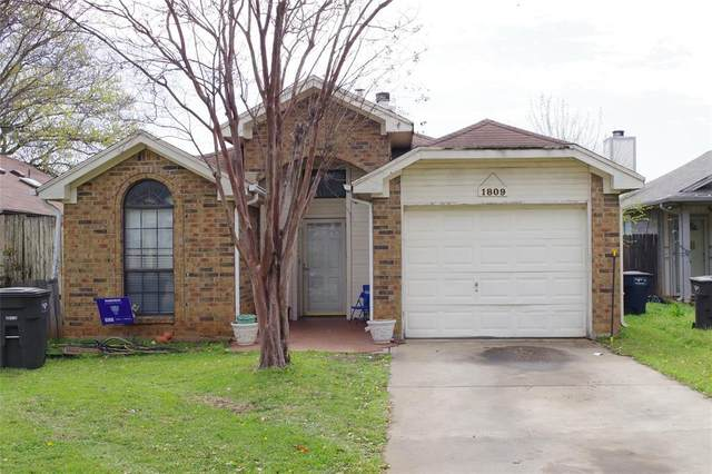 1809 Woodhall Way, Fort Worth, TX 76134 (MLS #14546051) :: Robbins Real Estate Group
