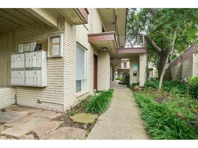 5001 Bowser Avenue #104, Dallas, TX 75209 (MLS #14546323) :: Front Real Estate Co.