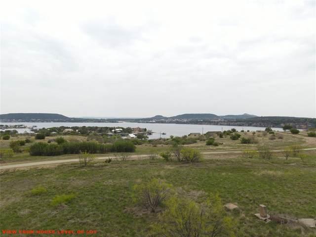 Lot 80 Blue Jay Lane, Possum Kingdom Lake, TX 76449 (MLS #14546460) :: The Daniel Team