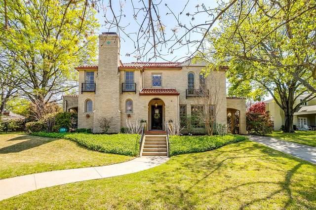2200 Winton Terrace E, Fort Worth, TX 76109 (MLS #14546761) :: The Kimberly Davis Group