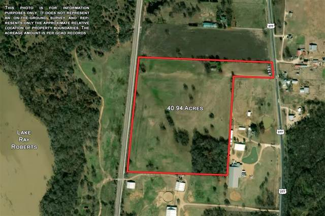 7773 Hwy 377, Collinsville, TX 76233 (MLS #14547057) :: Real Estate By Design