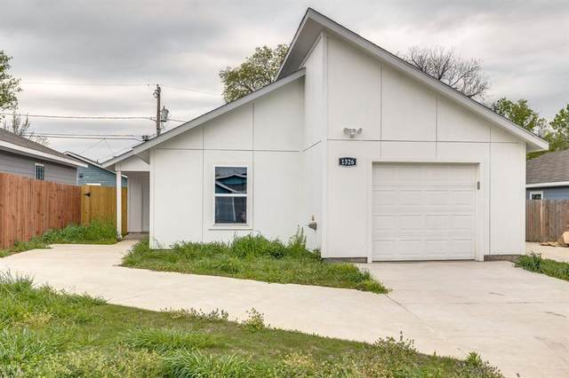 1326 Driess Street, Fort Worth, TX 76104 (MLS #14547090) :: Real Estate By Design