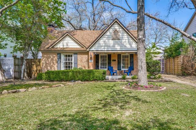 4509 Pomona Road, Dallas, TX 75209 (MLS #14548086) :: Feller Realty