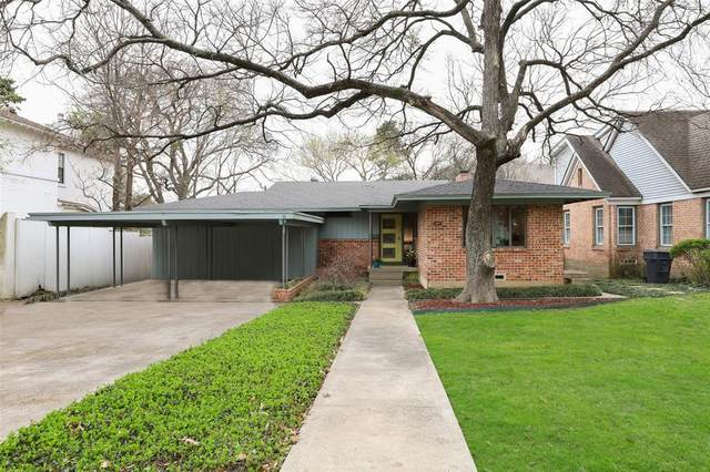 2014 Mayflower Drive, Dallas, TX 75208 (MLS #14548678) :: The Chad Smith Team