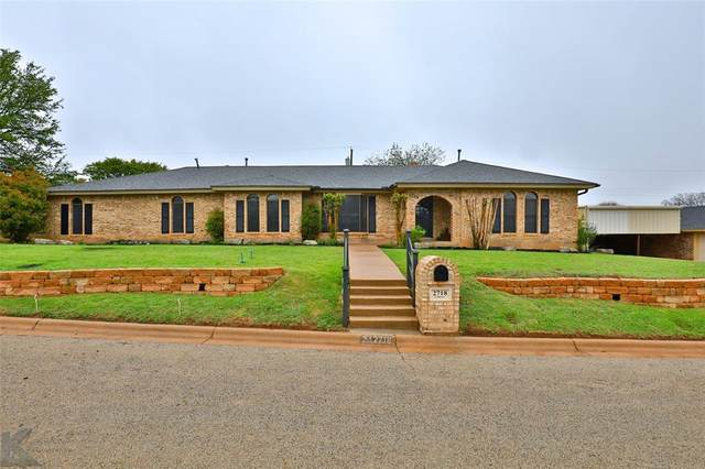 2718 Gilmer Avenue, Abilene, TX 79606 (MLS #14549564) :: Jones-Papadopoulos & Co