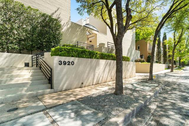 3920 Travis Street #23, Dallas, TX 75204 (MLS #14549647) :: Justin Bassett Realty