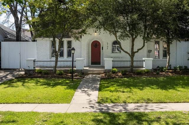 4705 Lafayette Avenue, Fort Worth, TX 76107 (MLS #14549686) :: The Hornburg Real Estate Group