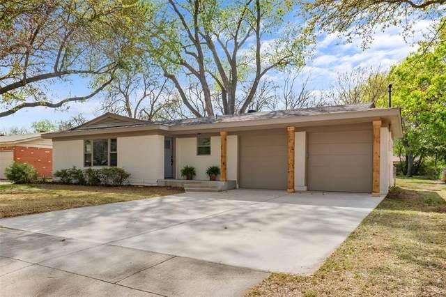 1126 Warden Street, Benbrook, TX 76126 (MLS #14549709) :: The Hornburg Real Estate Group